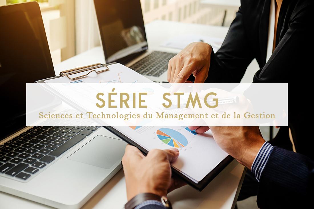Série stmg Sciences et Technologies du Management et de la Gestion lycée notre dame lycée technologique